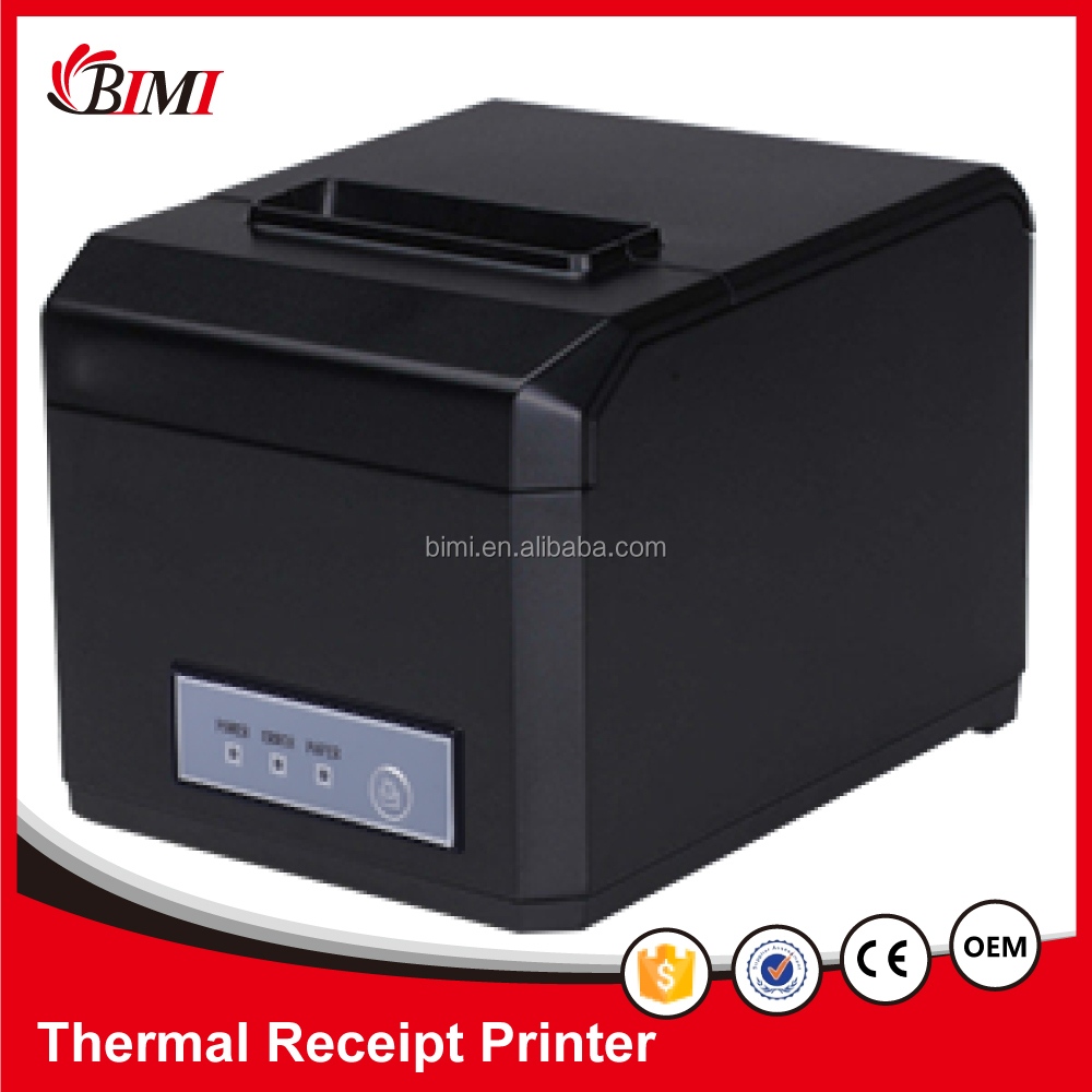 80mm / 58mm thermal receipt <strong>printer</strong> with auto cutter for pos systems