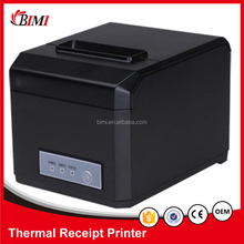 80mm / 58mm thermal receipt printer with auto cutter for pos systems