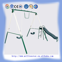 DG Million Star high quality LS-SW31060 4 station indoor outdoor patio swing set for children
