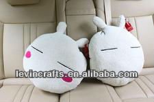 white lover soft pillow big head rabbit plush stuffed toys