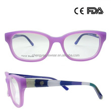 Cheap price durable beautiful shape special design widely used titan spectacle frame
