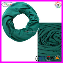 C552 Cotton Vivid Colors Infinity Loop Scarf Scarves Jersey Soft Touch Knit Infinity Scarf