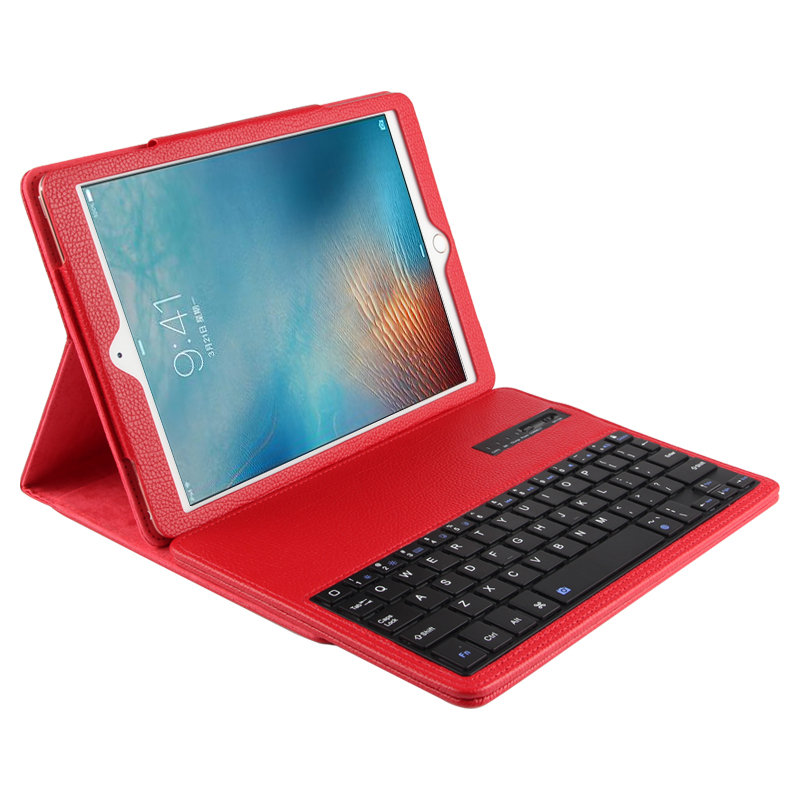 New 2017 Wireless Bluetooth Keyboard +PU Leather Cover Protective Case for ipad Pro 9.7 case