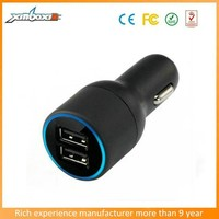 2015 high capacity 4.2A two usb car charger for mobile phone,tablet pc....