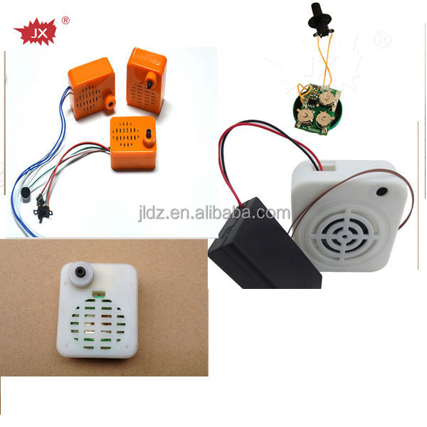 Light sensor sound module for promotion