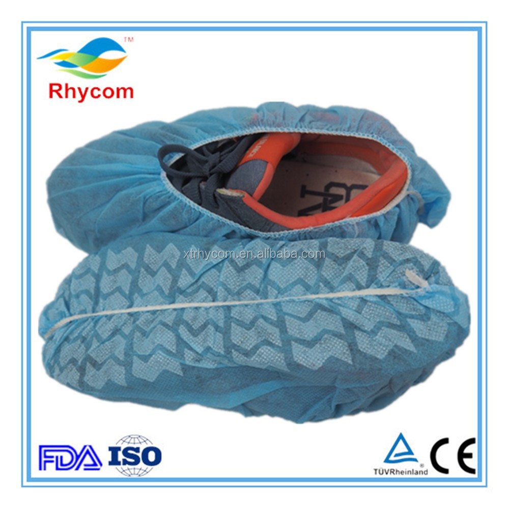 Shoe cover,disposable nonwoven shoes cover antiskid,disposable shoe covers non-woven