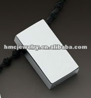 Unique Fashionable Rectangle Tunsten Pendant For