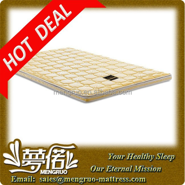 home furniture compress zipper mattress coconut fiber