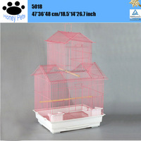Chinese manufactured high quality handmade bird cage bamboo inside