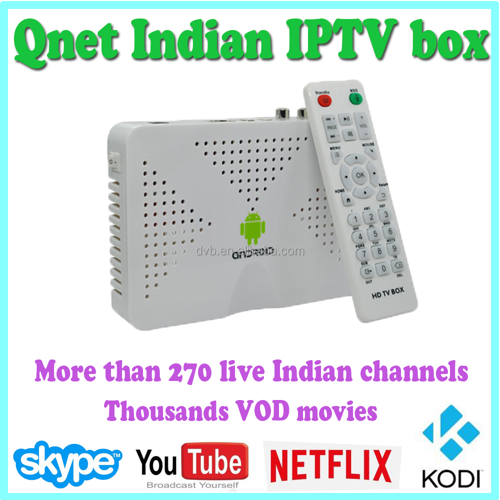 Android TV Box Indian IPTV with Indian IPTV channels app download and live streaming full HD Indian IPTV set top box