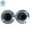 industrial telescopic flange type soft rubber expansion flexible joint