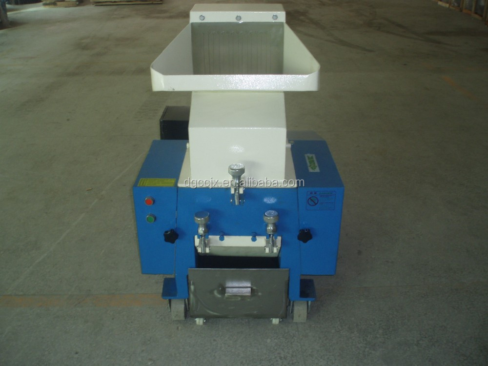 Small Plastic PP/PVC film scrap grinder machine