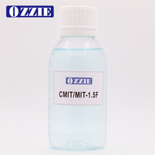 Combination of 1.5% isothiazolinone and formaldehyde