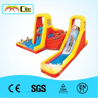 CILE Colorful Inflatable water slide for kids