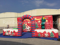 2016 hot sale Inflatable Christmas scenery with led light