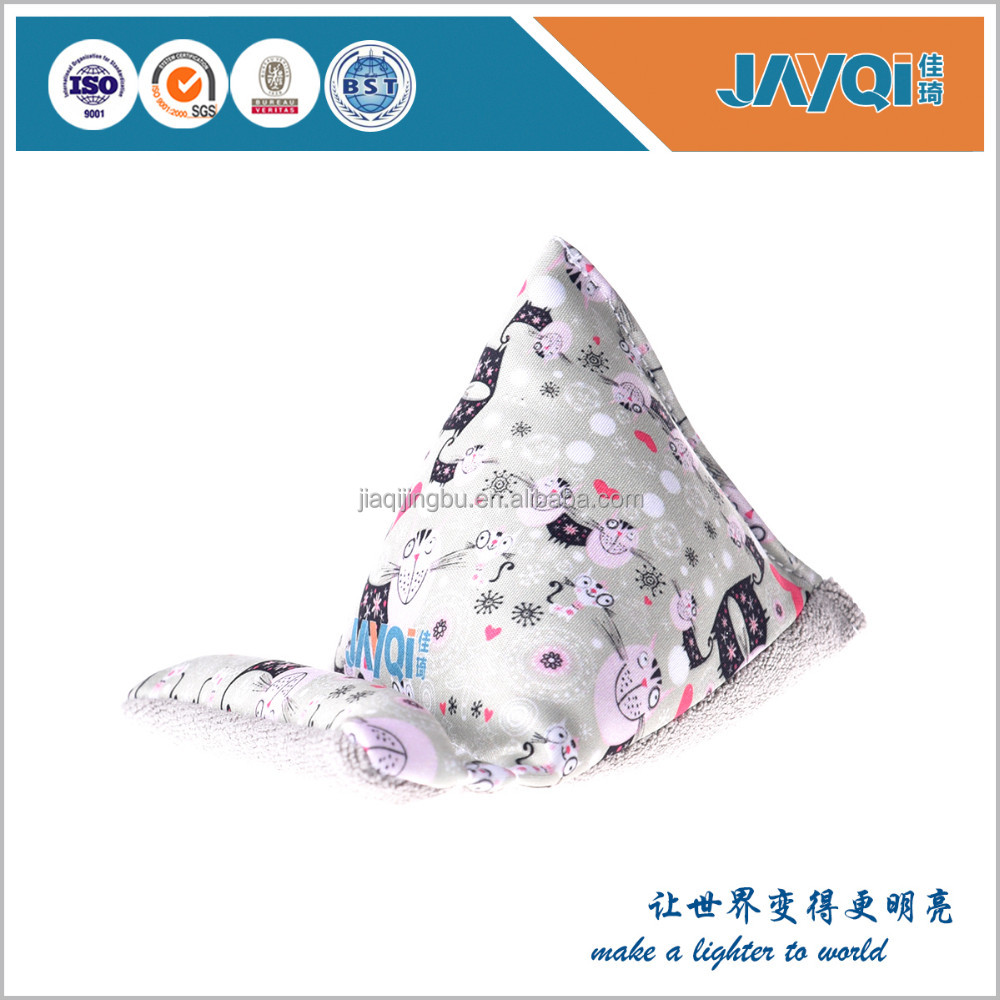Digital printing microfiber wedge mobile phone holder