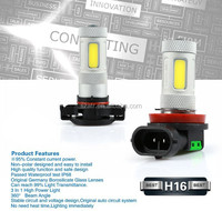 2015 new product H16 DRL cob car led fog light perfect quality and wholesale price