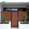 factory price aluminum prefab louver fencing