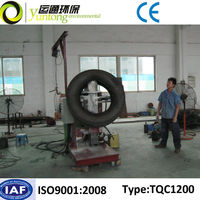 Yuntong Environmental Scrap Tire Tube Rubbing Machine With CE
