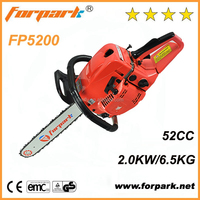 Hot sale cheap 52cc echo gasoline chain saw chinese chainsaw