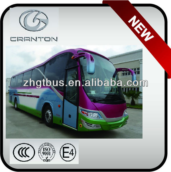 diesel new design bus with daewoo chassis
