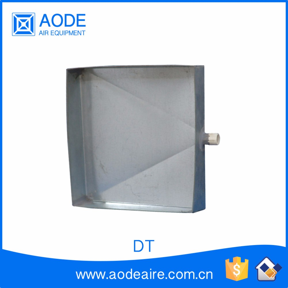 Air conditioner drip stainless steel tray for