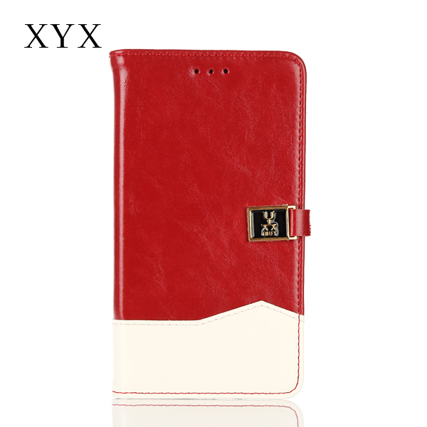 Color-mix high quality flip leather cover, wallet case flip cover for nokia lumia 540