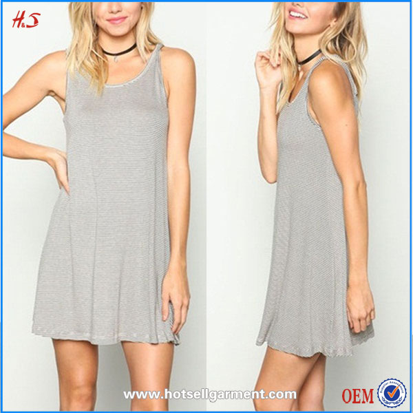 Factory latest design OEM Bulk wholesale clothing ladies casual mini dress