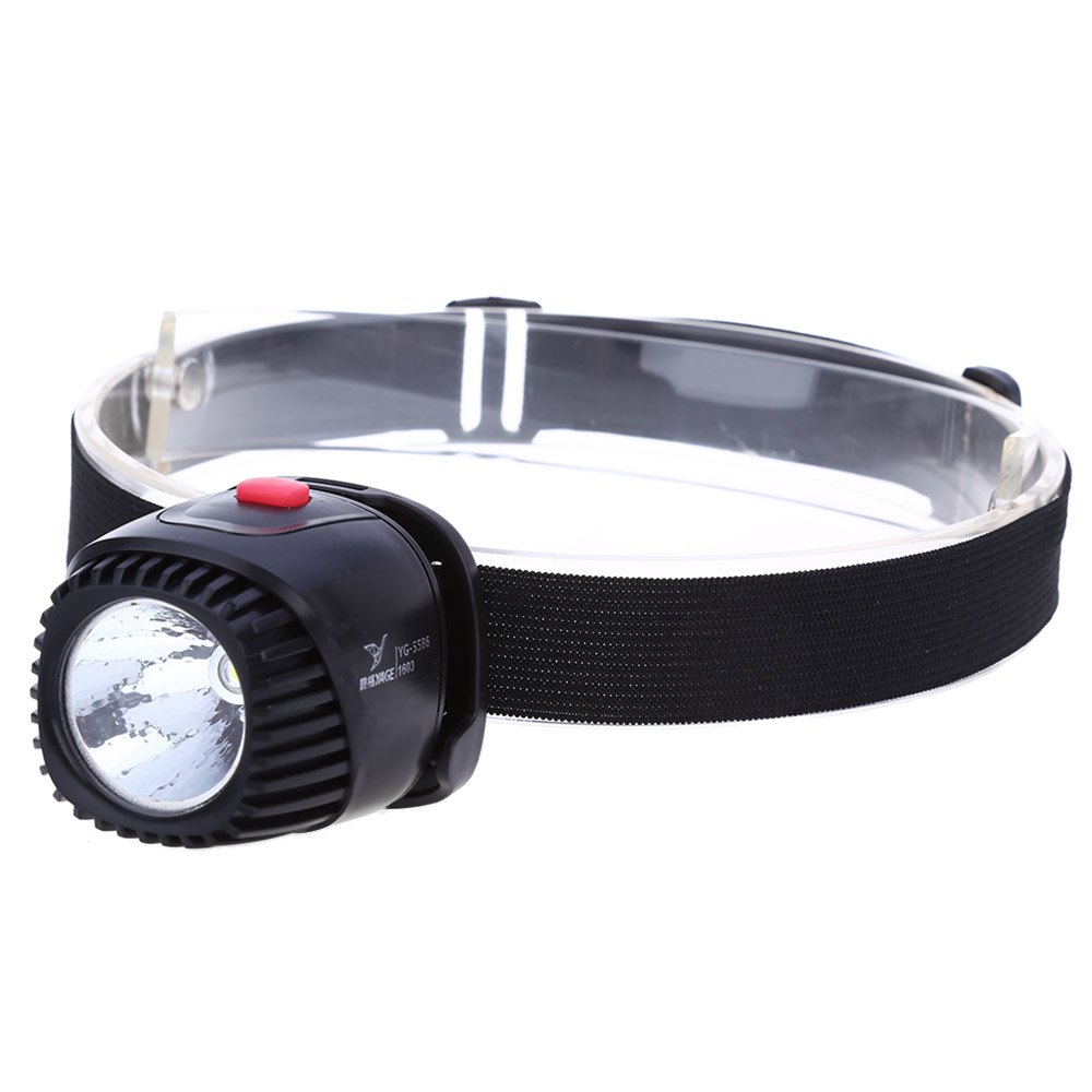 Portable 1W 120LM LED Cap Light Headlamp Headlight for Outdoor Fishing Camping Hunting Camping Lights