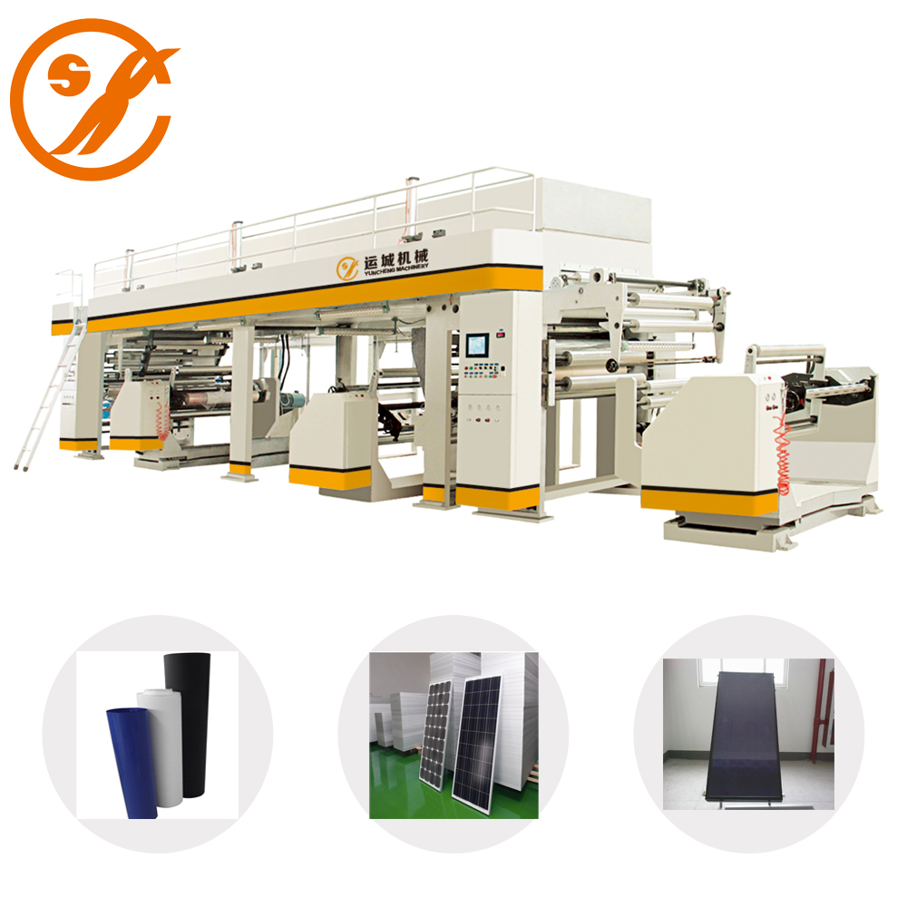 Anti-Water Solar Panel Laminator Coating Machine for Solar Battery Back