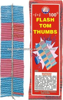 FLASH TOM THUMBS FIRECRACKERS FIREWORKS