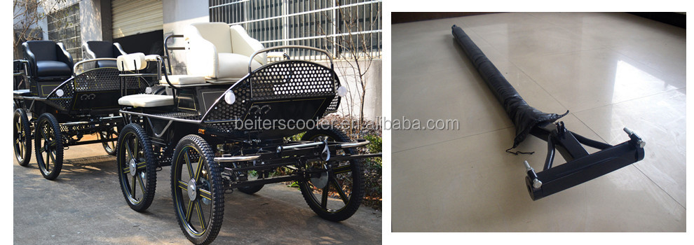 Global direct selling luxury used horse carriages for sale