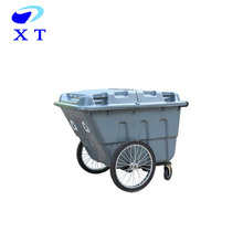 plastic big dustbin communal garbage waste bin car for sale