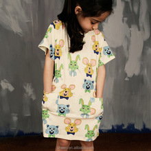 little girl fashion frock mixed dress for girls children casual frocks design baby cotton frocks designs