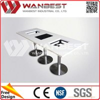 Cost price useful suqare compact dining tables