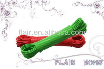 Colorful folding rotary washing line