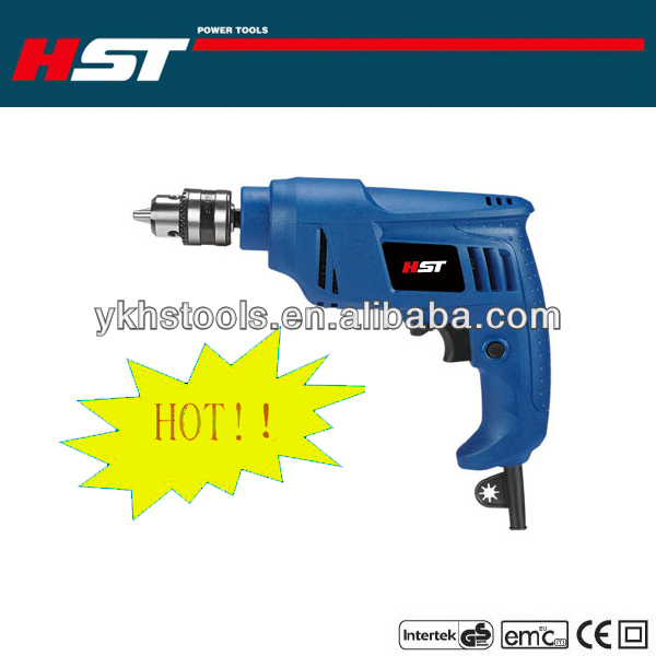 HS2001 400W 10mm electric hand drill machine price with CE