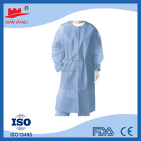 Non Woven Sterile medical disposable ppe gowns