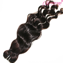 Homeage wholesale remy hair ocean wave textures loose european hair