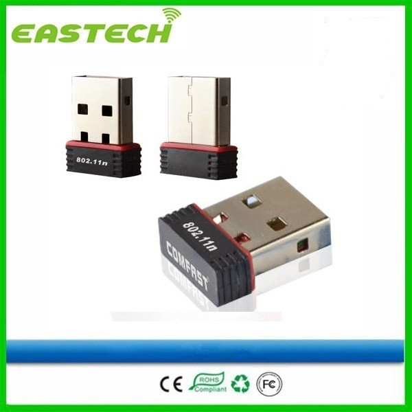 Chinese new product hot sale 150Mbps network card wireless usb wifi adapter driver