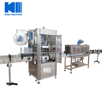 High Speed Shrink Sleeve Automatic Labeling Machine For Beverage