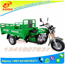 three wheeled motor car green 1.2m*1.8m mini truck 150cc cargo motor triporteur