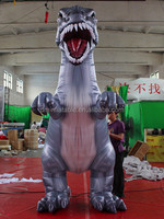 3M Cartoon Inflatable Dinosaur/giant inflatable animals/inflatable dragon