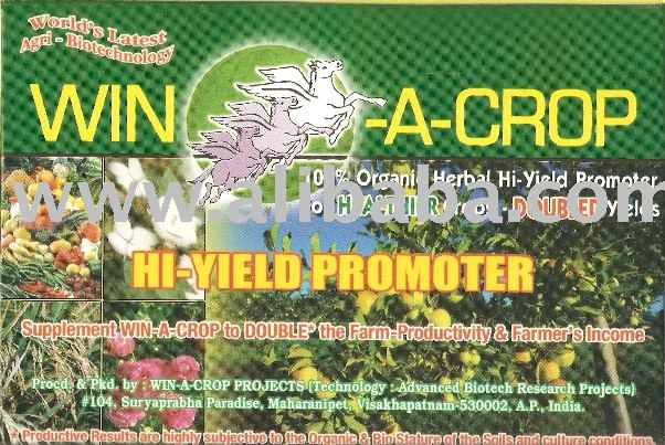 WIN-A-CROP JATROPHA Hi-Yield Promoter