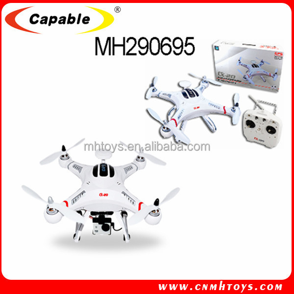 CX-20 WIFI live transmission RC quadcopter FPV , dji phantom 2 vision gps smart drone quadcopter