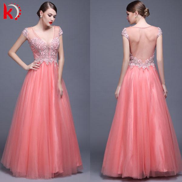 Venta al por mayor vestidos largos para graduacion-Compre online los ...