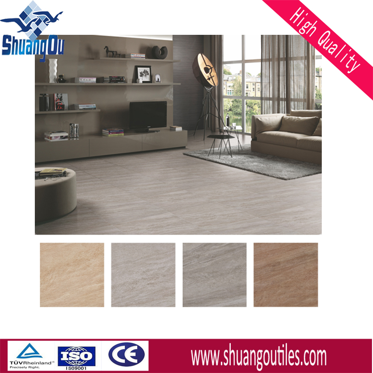 new 3D sandstone look ceramic floor tile wholesale price 600x600mm for floors, walls, 6690