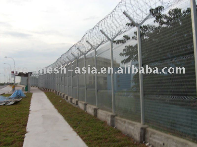 anping good quality PVC coated fence netting/ 3 D fence (SGS certificate & ISO9001)