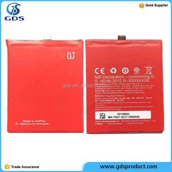 Chargeable BATTERIA PILA Original oneplus BLP607 2600MAH oneplus x battery replacement