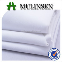Mulinsen textile woven polyester wool peach abaya fabric material